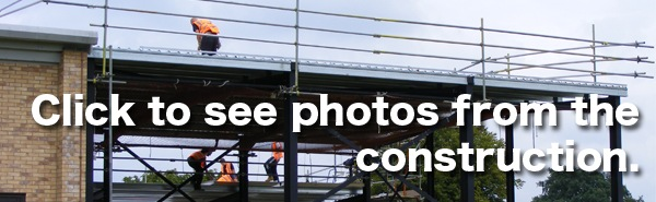 Click to see photos from the construction of Furze Platt's new Drama block.