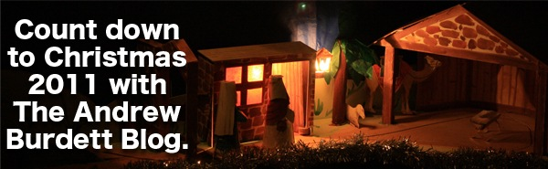 Count down to Christmas with The Andrew Burdett Blog.