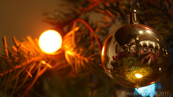 CHRISTMAS REFLECTIONS_The church's Christmas Tree Festival is open this weekend.