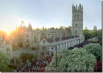 PRESTIGIOUS: Student Elly Nowell wrote a parody rejection letter to Magdalen College.