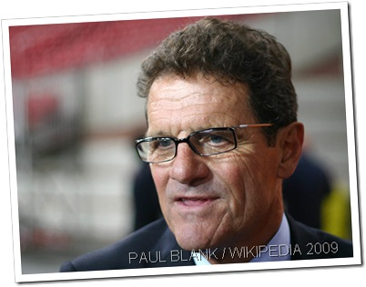 OUT WITH THE OLD: Fabio Capello resigned as England football manager this week.