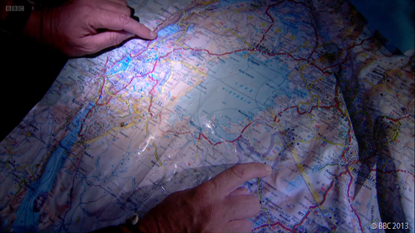 DISTANCE TO GO: Next week's Part Two episode sees the three men travel another 500 miles.
