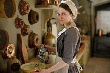 Sophie McShera as Daisy Mason in Series 4 of Downton Abbey.