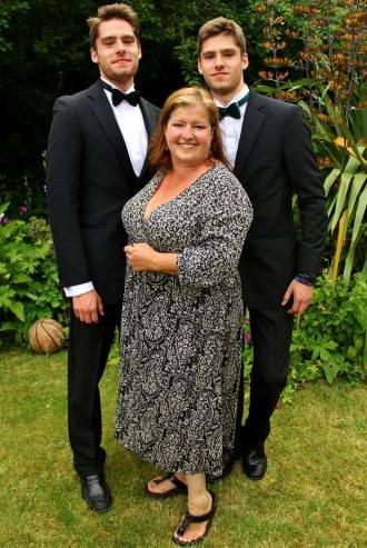 Sam, Ben, and Fiona Barrett