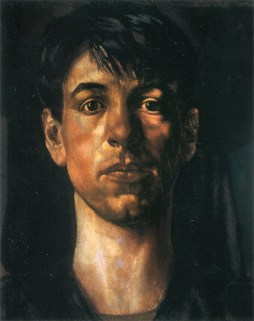 Stanley Spencer's self-portrait, painted 1914.