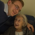 My brother, Matthew, with Dorothy.