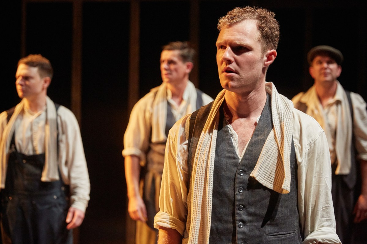 Paul Tinto as Phil in 'Operation Crucible' at Sheffield Theatres.