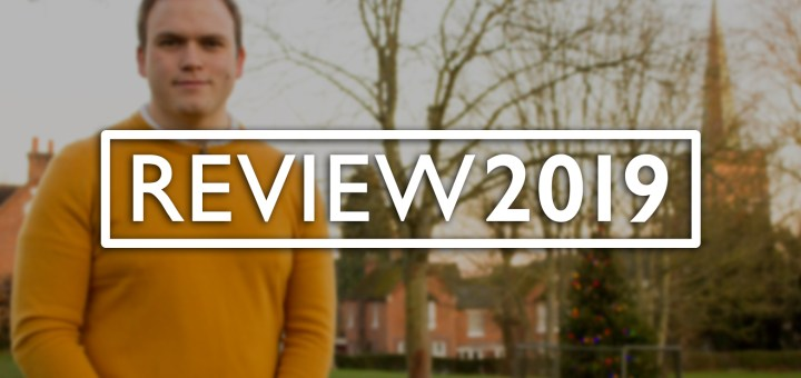 Titlecard for Andrew's REVIEW 2019 film.