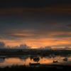 Topsham Sunset photographed by Andrew Butler
