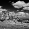 Hound Tor photographed by Andrew Butler