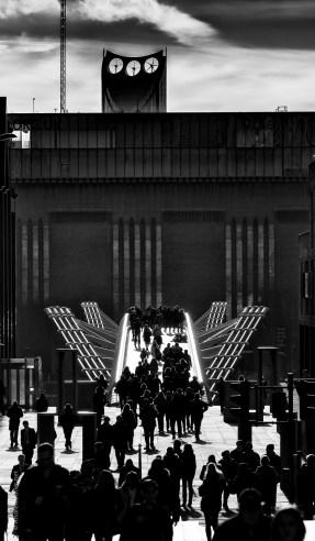 Tate Modern-Millenium Bridge