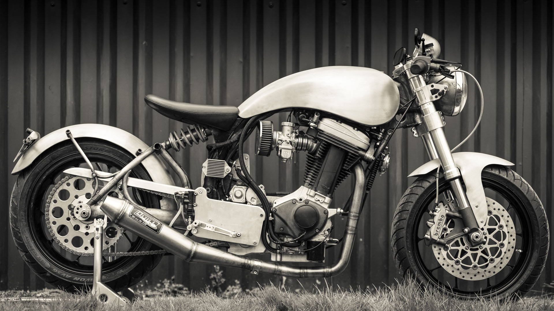 Motorcycle photograph