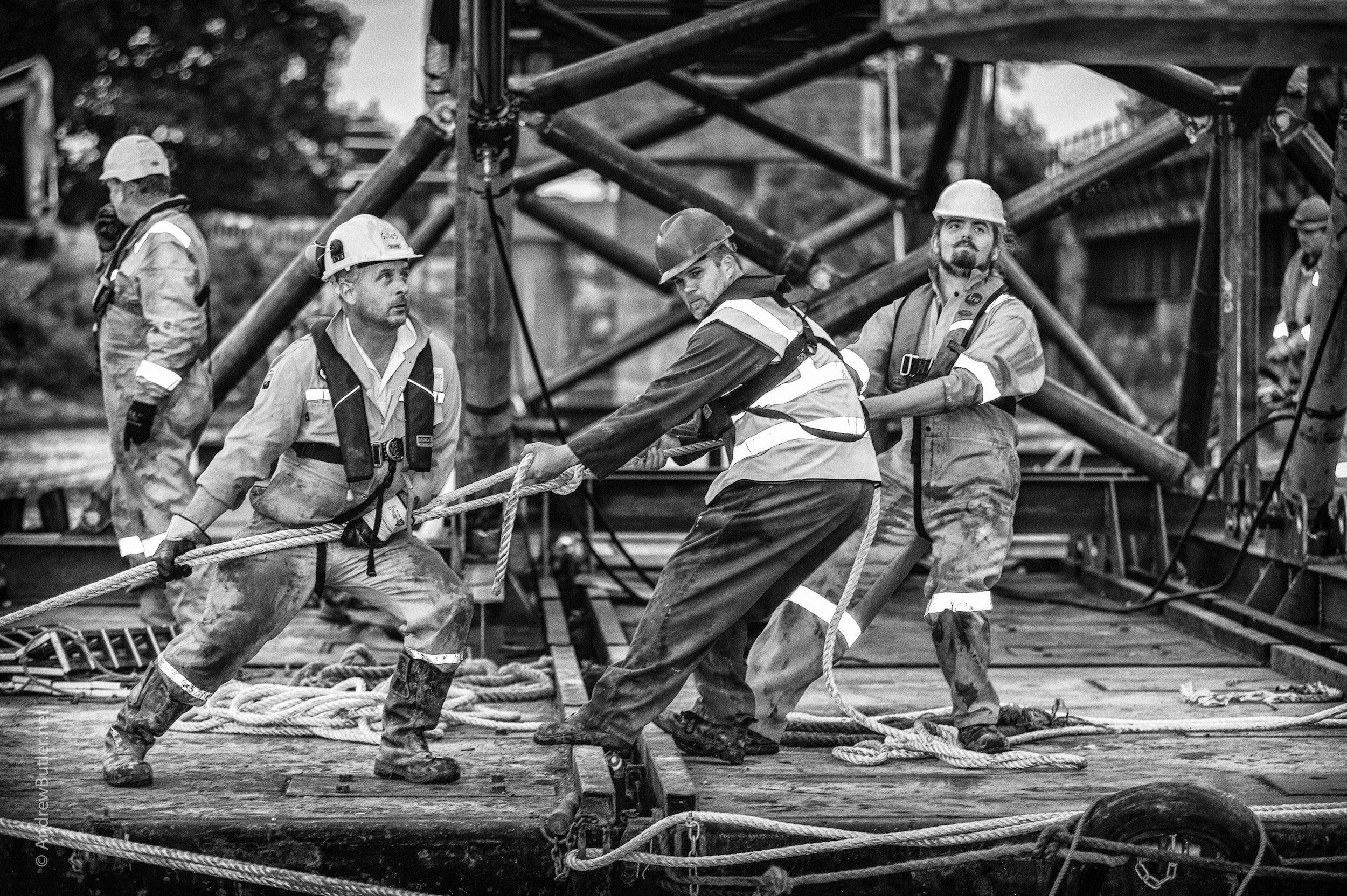 engineering photographs andrew construction industrial photographer butler documenting bridge commercial photograph clyst topsham cycle marine professional devon exeter near portrait