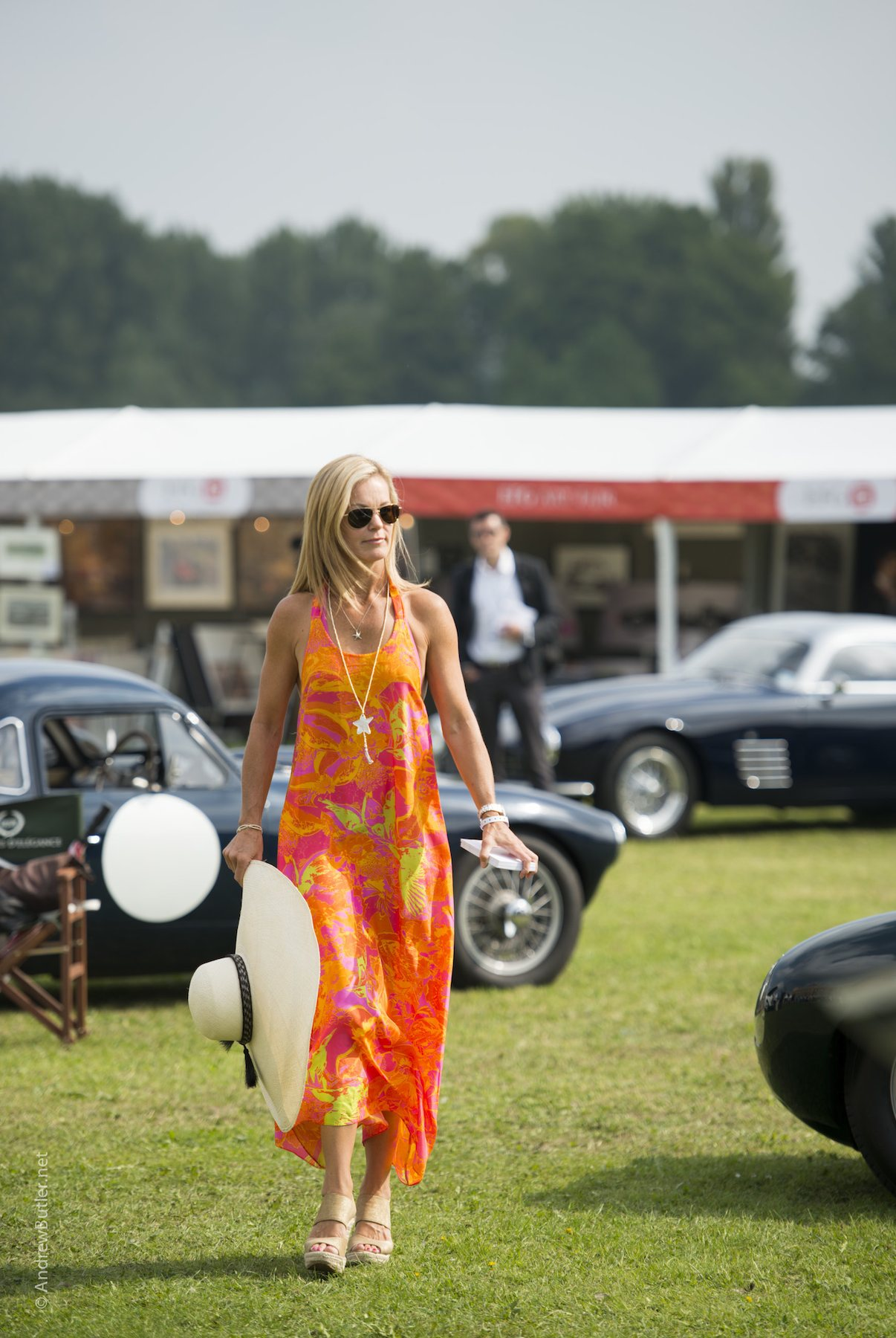 Salon Privé 2014 Woman Photograph by Andrew Butler of Exeter Devon