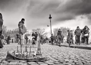 Paris Mono Street Photograph by Andrew Butler