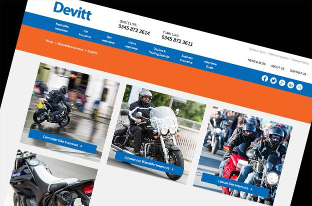 Motorbike Photography for Devitt by Andrew Butler