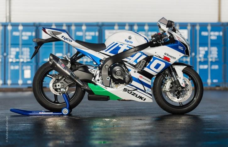 Tyco Suzuki GSXR 600 Motorcycle Photographer Andrew Butler