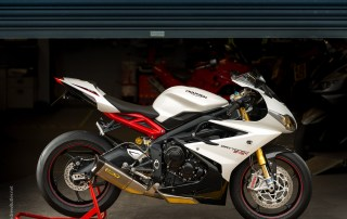 Motorcycle photographer Andrew Butler Triumph 675R