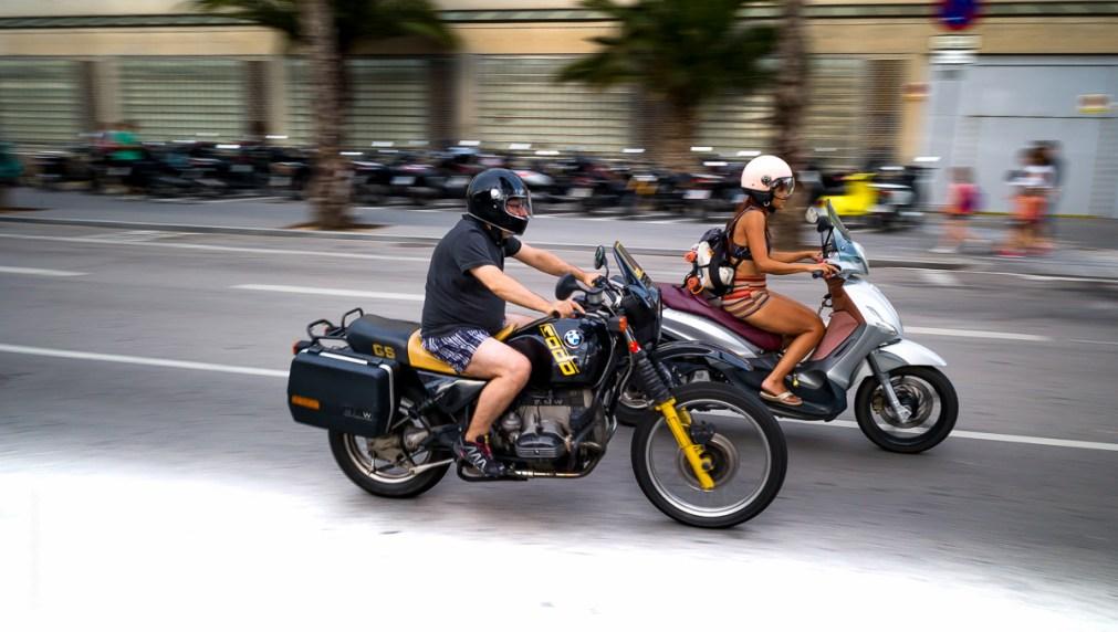 Barcelona BMW GS