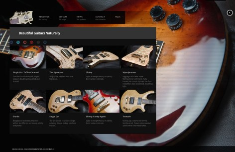 Bespoke Electric Guitar