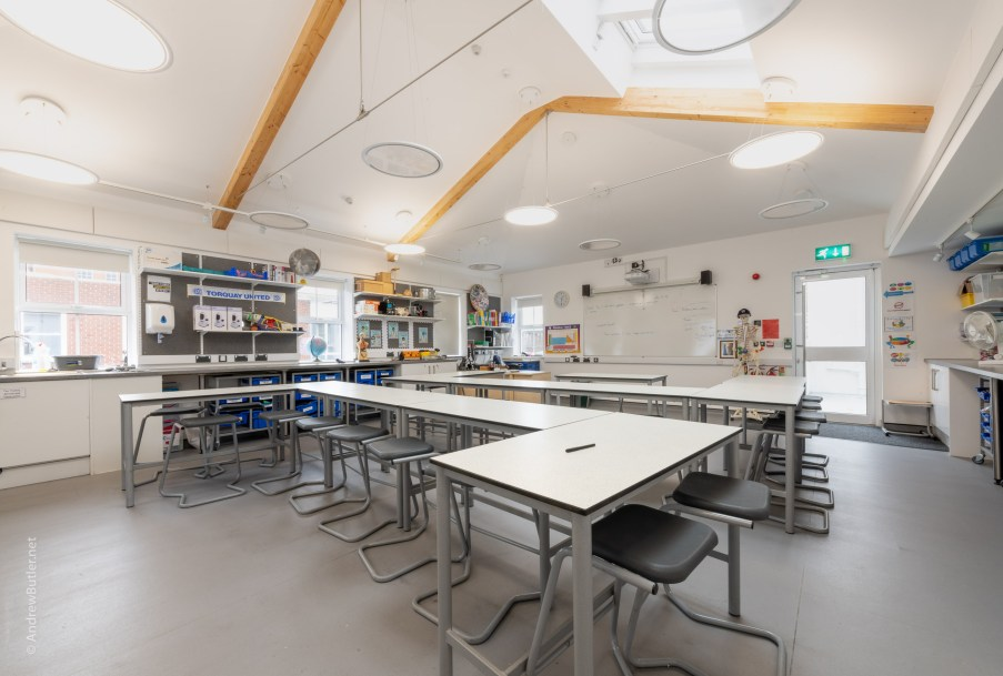 Exeter Photographer School Interior