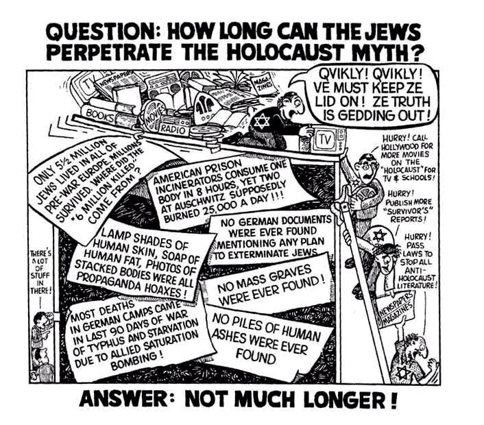 Image result for jewish holohoax