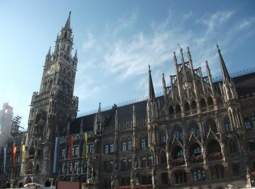 Neues Rathaus, Marienplatz, Munich