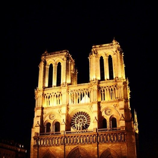 Cathédrale Notre Dame de Paris at night #Paris #France#notredame #notredamedeparis #beautiful #tourist #seine #cathedral #love #architecture #church #weekend #spring #pont #wanderlust #holiday #parisjetaime #summer #colors #instaparis #cathédrale #french #ig_france #travel #weekend #eiffeltower #iloveparis #sky #night #parisian