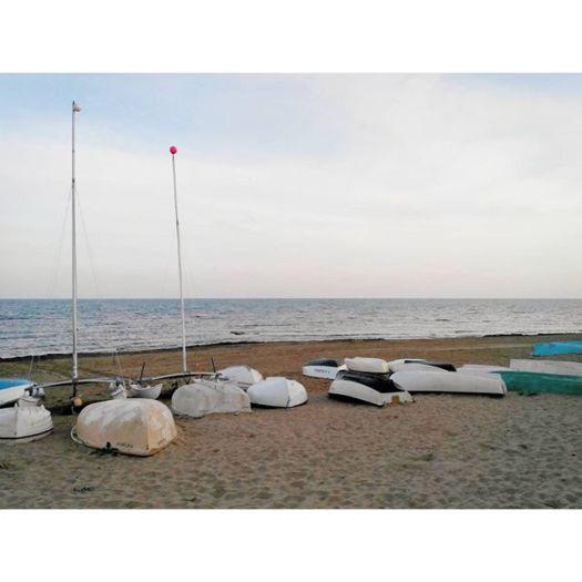 Turned Over Boats. La Mata North