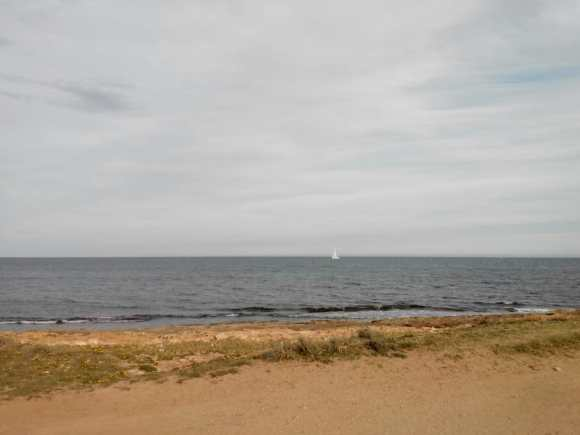 Sailboat in the distance