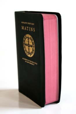 Monastic Breviary Matins Red Pages
