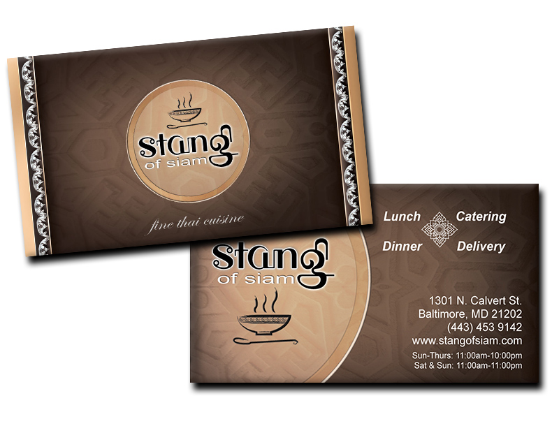 Print design archives andrew farquer stang of siam business card reheart Images