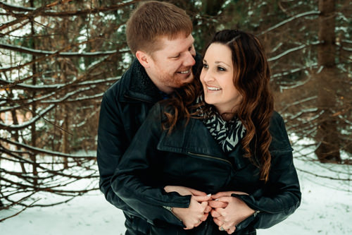 Laurel Creek Waterloo Ontario Engagement Photography