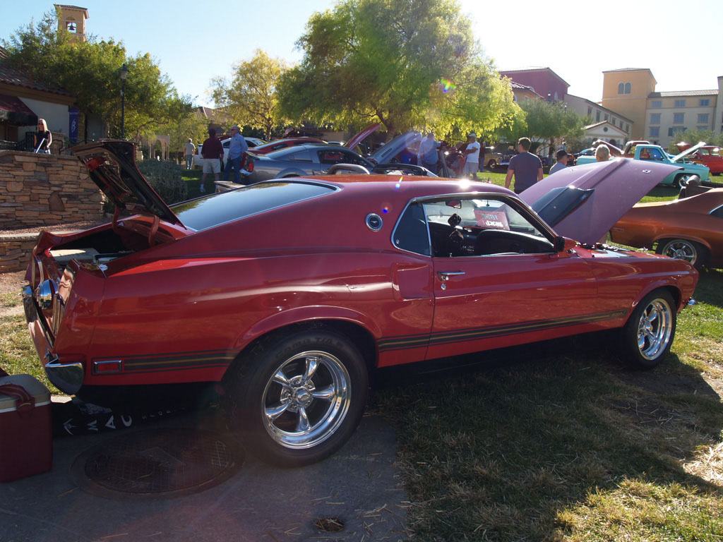 Classic Mustangs at Lake Las Vegas Car Show 2011