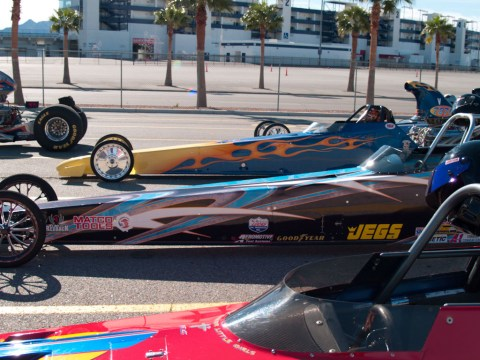 Dragster Lane Las Vegas