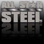 All Star Steel Logo Design