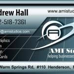 AMI Studios Business Card Design