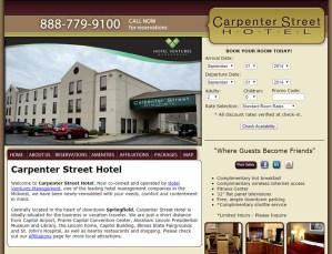 Carpenter Street Hotel