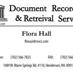 DRRS Business Card Design