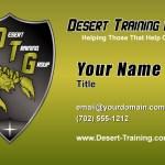 Desert Training Group Business Card Design