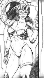 Sci-Fi Comic Art
