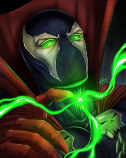 Spawn Comic Art
