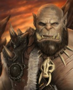 World of Warcraft Comic Art