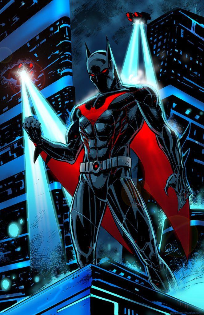 Eric Ninaltowski Comic Art - Batman Beyond