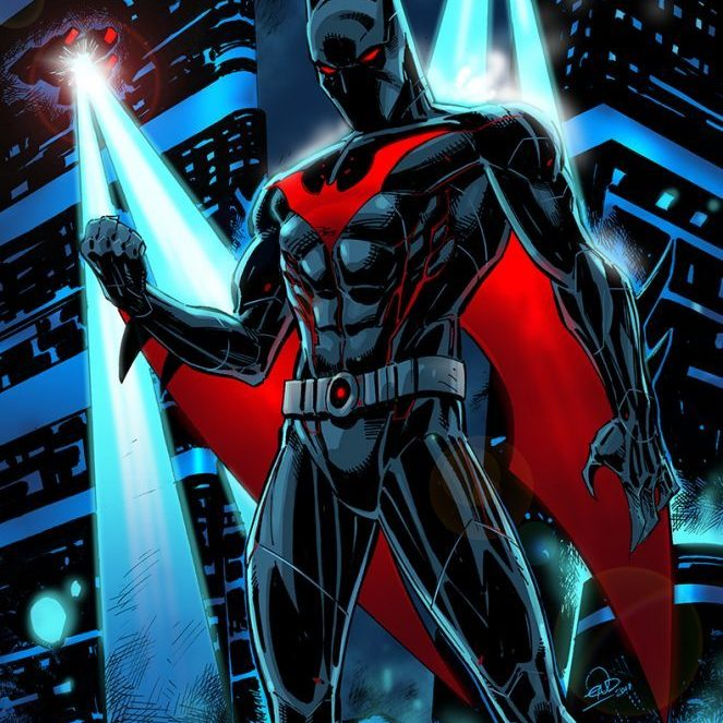 Eric Ninaltowski Comic Art - Batman Beyond