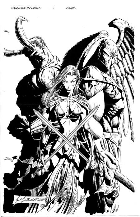 Avengelyne Armegeddon Issue 1 Cover Art