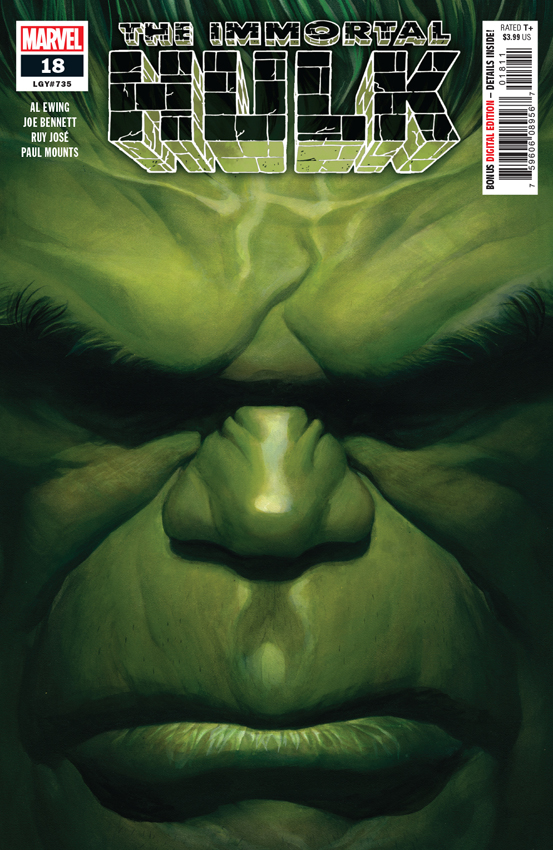 IMMORTAL HULK #18 Alex Ross