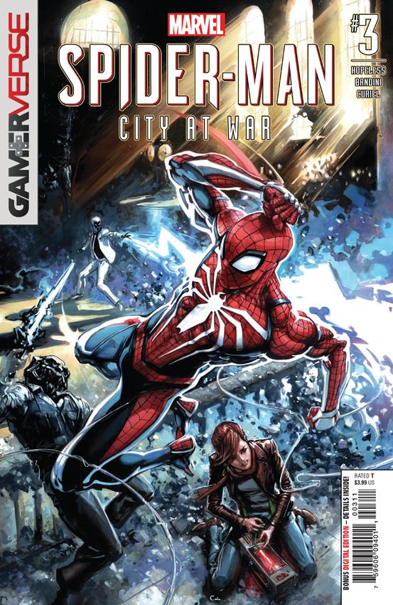 SPIDER-MAN CITY AT WAR #3 Clayton Crain