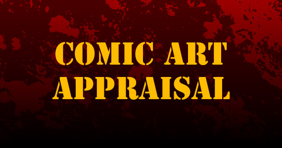Comic Art Appraisal