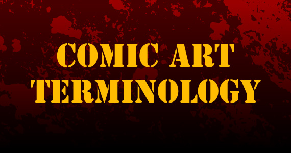 Comic Art Terminology